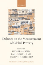 Debates on the Measurement of Global Poverty-2010