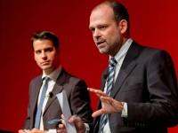 Heriberto Araujo y Juan Pablo Cardenal speaker, conferencia, la silenciosa conquista
