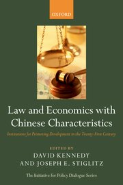 Law and Economics with Chinese Characteristics- 2013