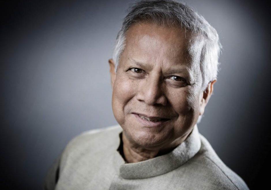 Muhammad Yunus speaker, grameen bank