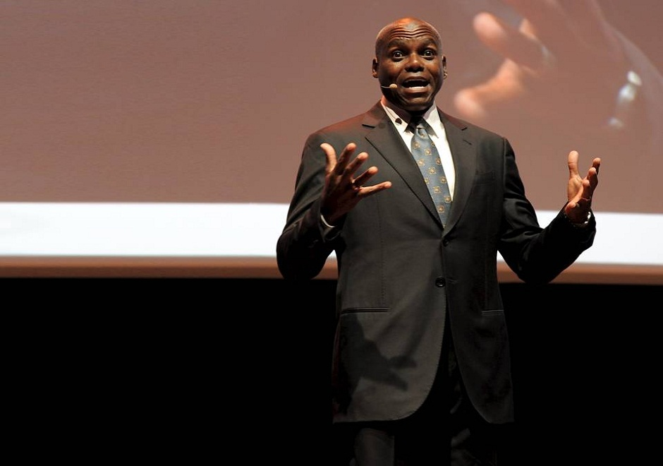 Carl Lewis speaker, keynote speech, conferencias