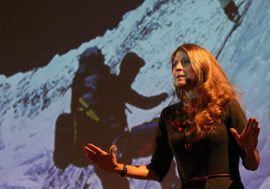 Karla Wheelock conferencista, speaker, alpinista