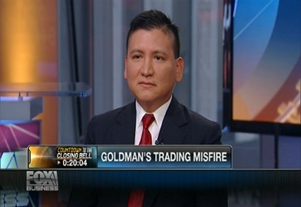 Goldman option trades