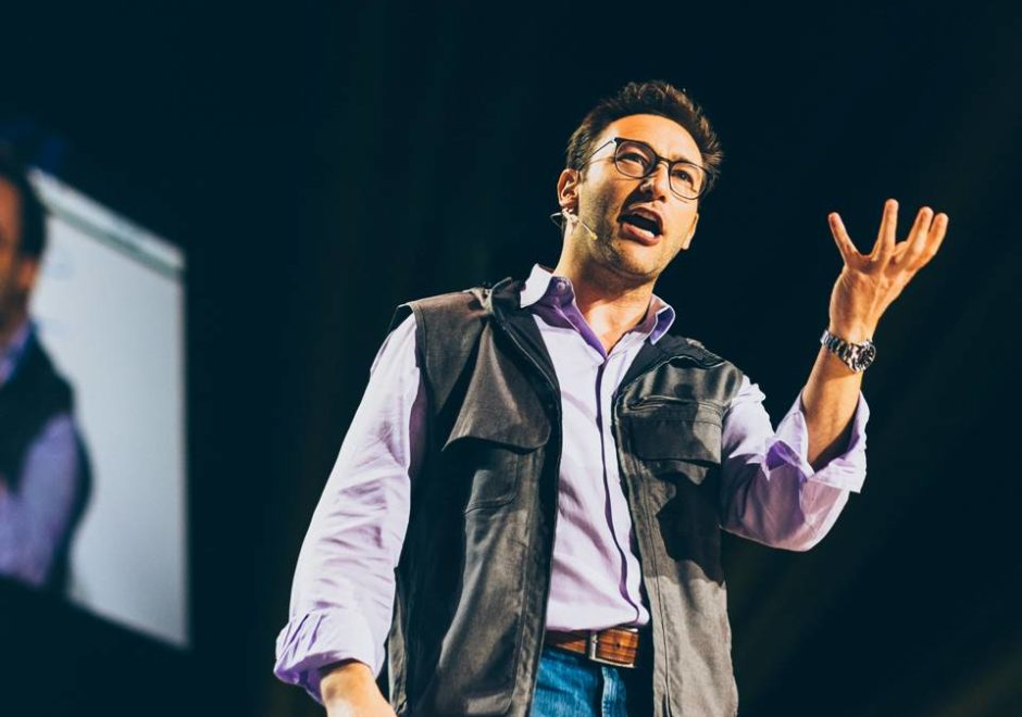 Simon Sinek speaker, conferencias, keynote