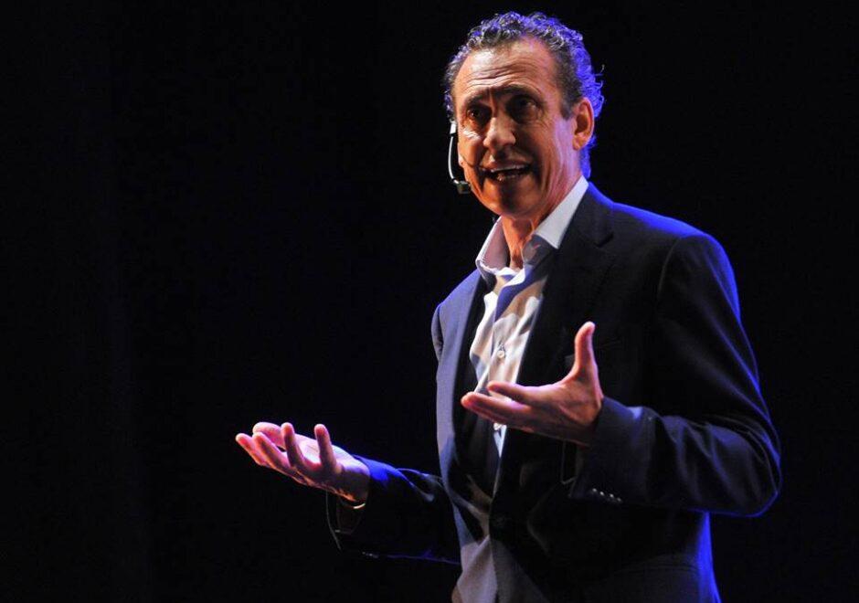 Jorge Valdano speaker, conferencias, liderazgo, futbol