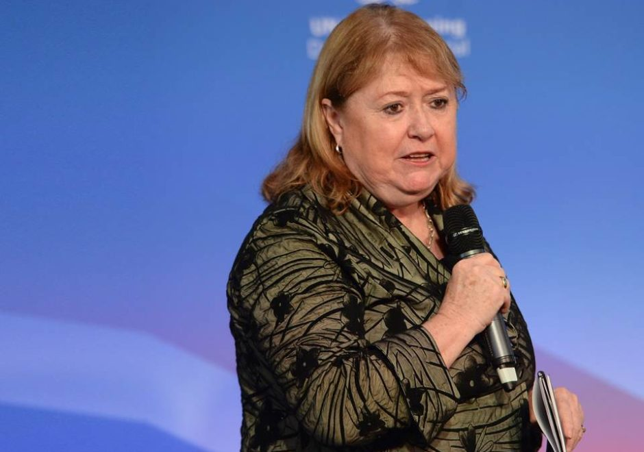 Susana Malcorra conferencias, speaker, onu