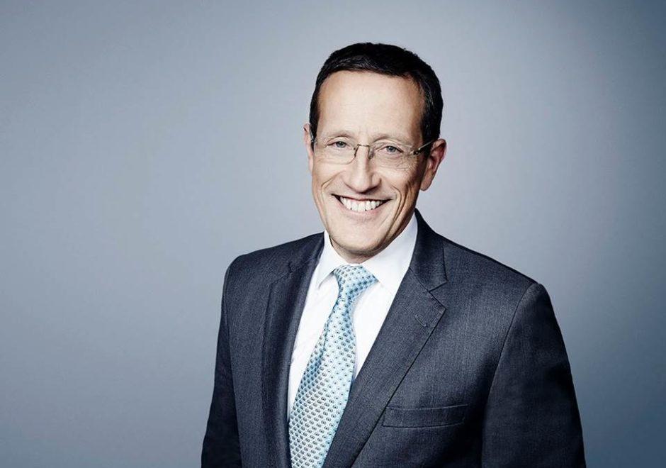 Richard Quest presenter CNN, speaker, moderator, economy