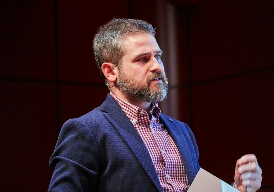 Marc Martin speaker, presentador, tve