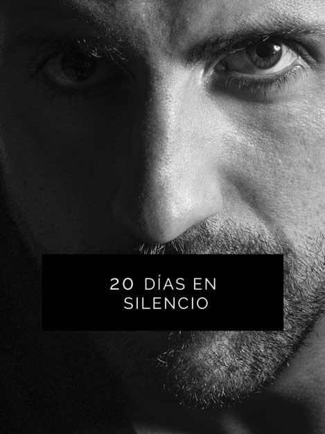 20 días en silencio