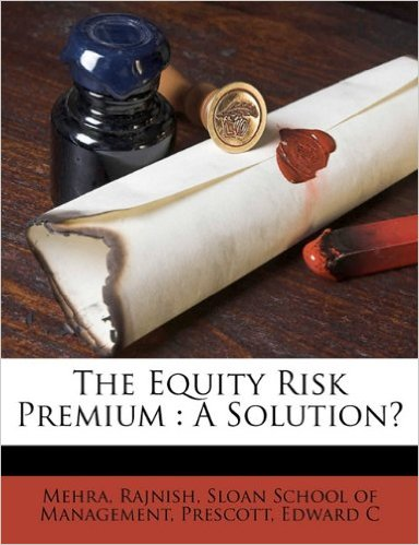 The Equity Risk Premium: A Solution?