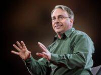 Linus Torvald speaker, keynote, linus, conferencias