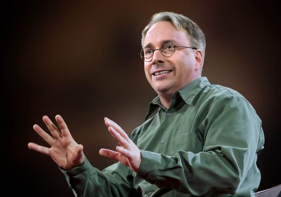 Linus Torvald speaker, keynote, linus, conferencias