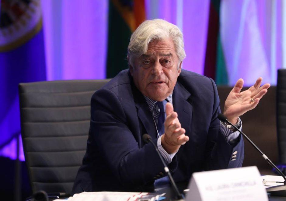 Luis Alberto Lacalle speaker, uruguay, conferencias