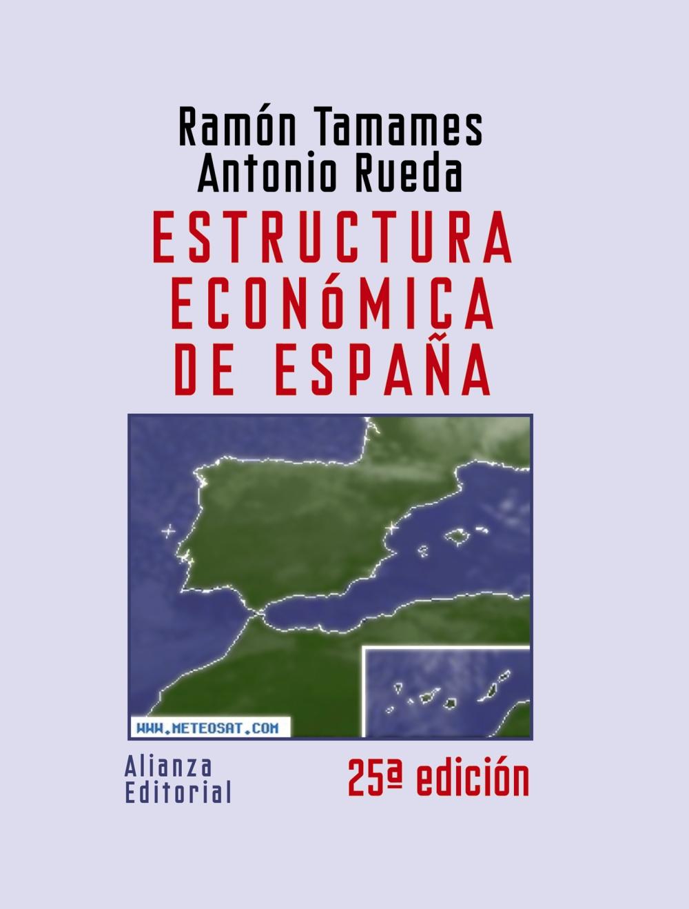 ESTRUCTURA ECONÓMICA DE ESPAÑA (2008)