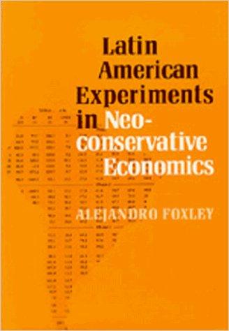Latin American Experiments in Neoconservative Economics