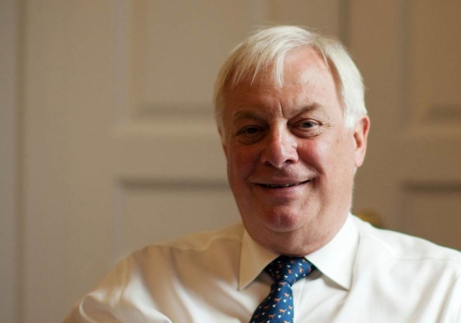 Chris Patten speaker, keynote