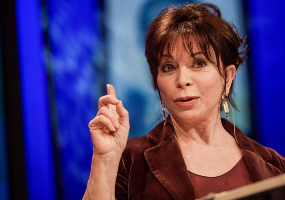 Isabel Allende speaker, autora, conferencias