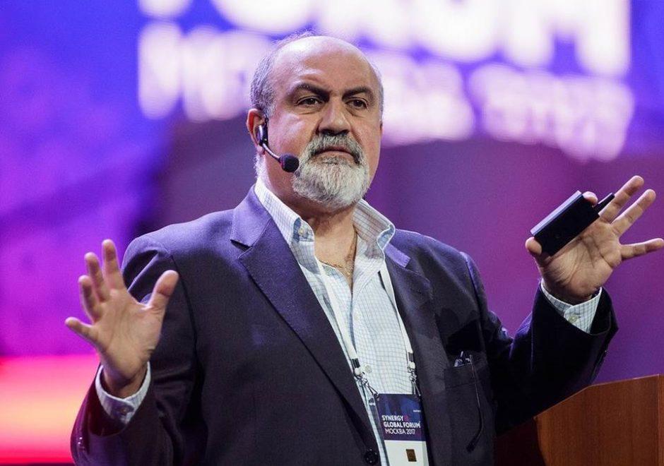 Nassim Nicholas Taleb speaker, the black swan