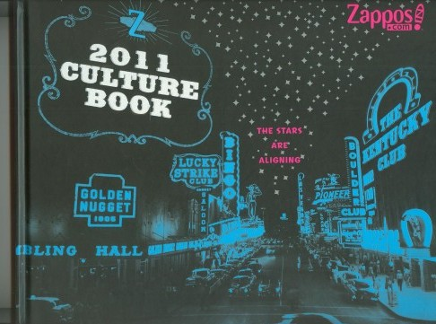 CULTURE BOOK OF ZAPPOS.