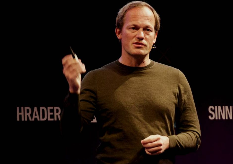 Yuri Van Geest speaker, keynote speech, singularity university