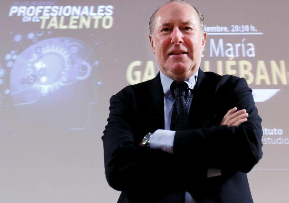 José María Gay de Liébana speaker, conferencias, economía