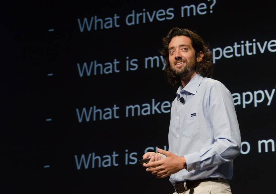 Ricardo Diniz speaker, solo sailor, oceans, keynote