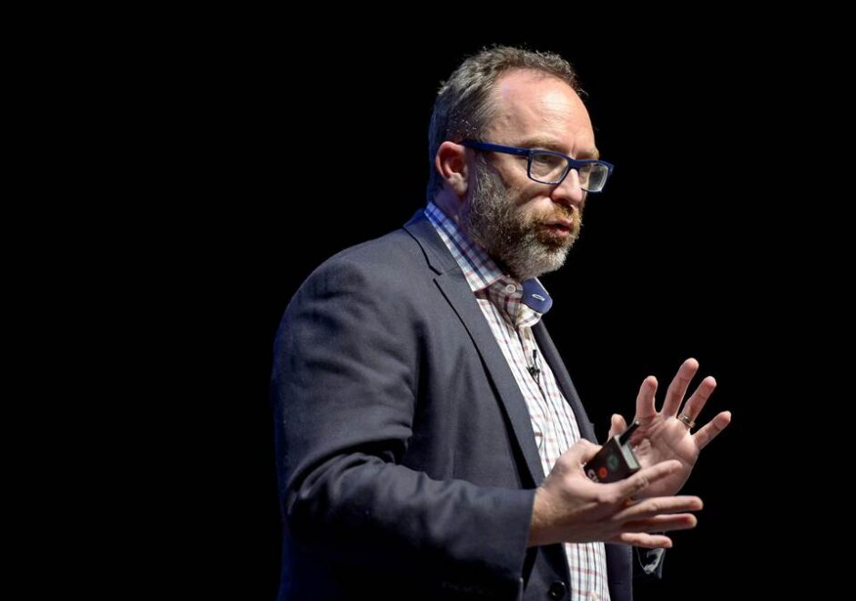 Jimmy Wales speaker, wikipedia, conferencias