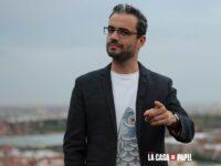 Javier Gómez Santander La Casa de Papel, conferencias, guionista, Netflix
