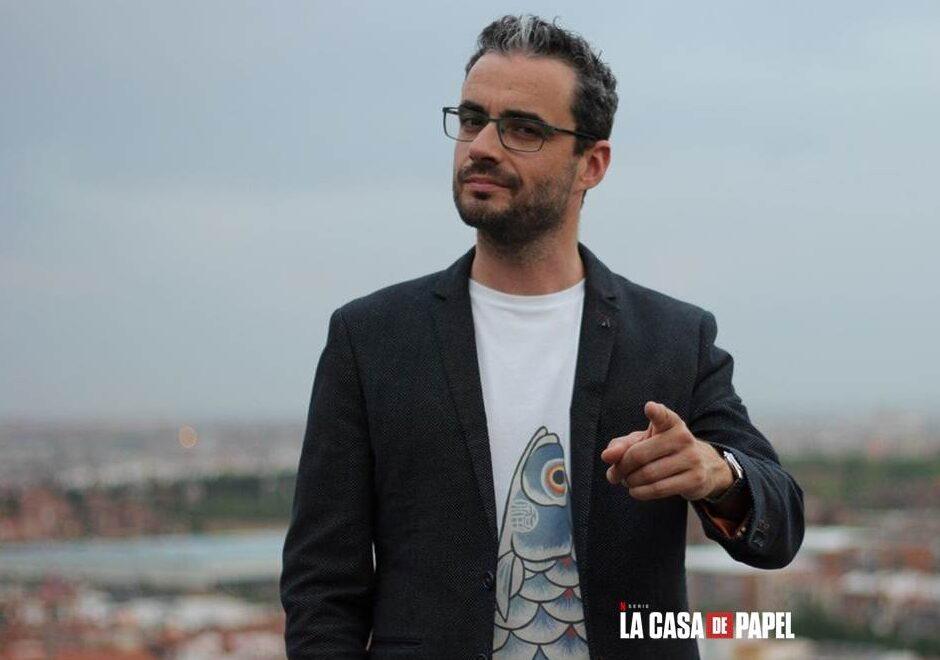 Javier Gómez Santander La Casa de Papel, vonferencias, guionista, Netflix