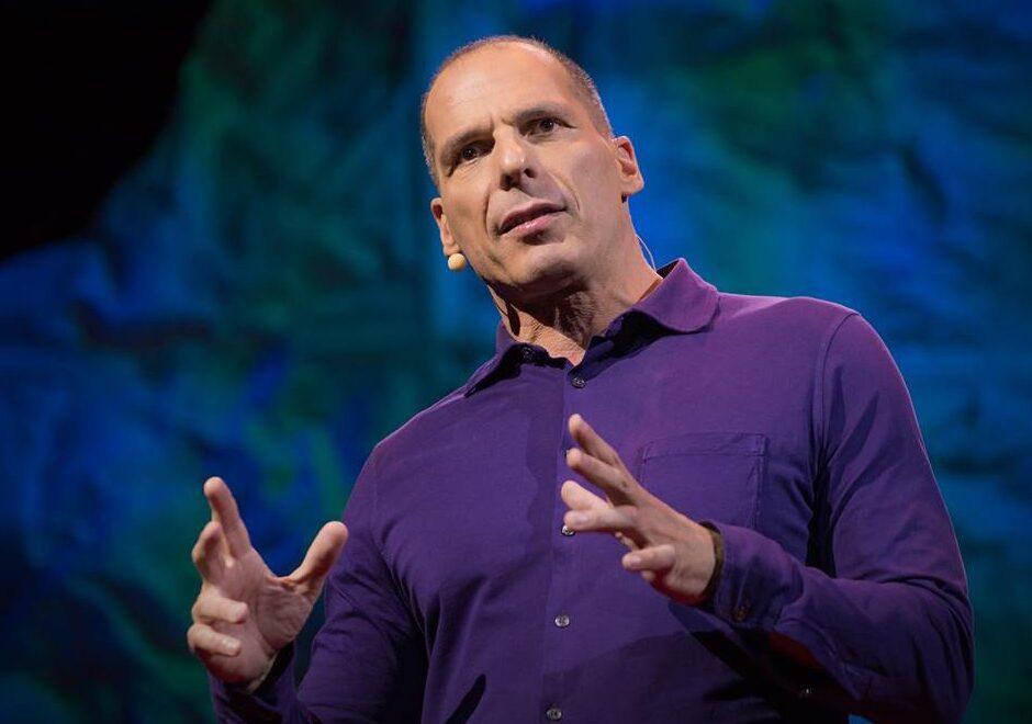 Yanis Varoufakis speaker, ted, keynote