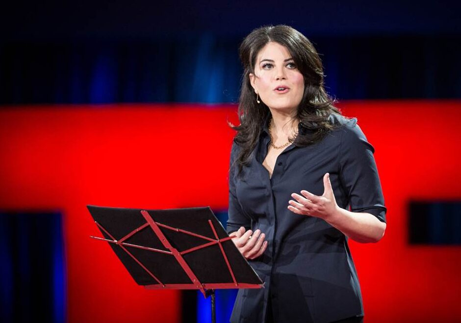 Monica Lewinsky speaker, the price of shame, keynote, TED